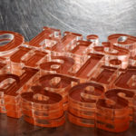 "Laser Cut 3/8"" Acrylic Dimensional Letters with Double-Sided Tape"