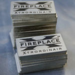 Laser Cut and StayMark™ Laser Marked 14 Gauge Stainless Steel Nameplates